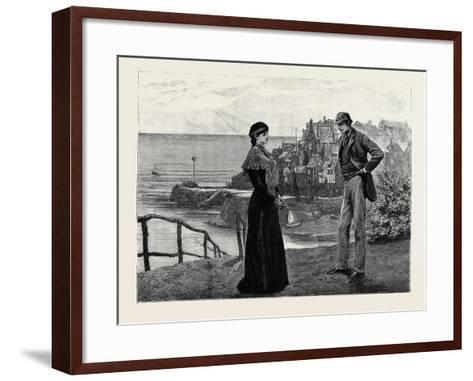 Kit, a Memory; Kit Was Walking to and Fro Awaiting Her--Framed Art Print