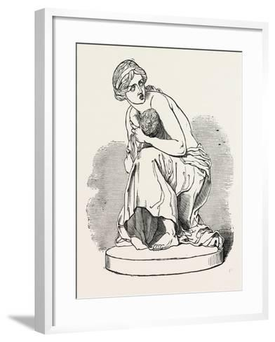 Massacre of the Innocents Exhibited by the Art Union, 1851--Framed Art Print