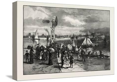Toronto, from the Island, Canada, Nineteenth Century--Stretched Canvas Print