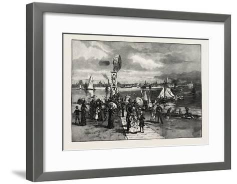 Toronto, from the Island, Canada, Nineteenth Century--Framed Art Print