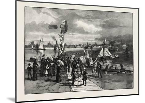Toronto, from the Island, Canada, Nineteenth Century--Mounted Giclee Print