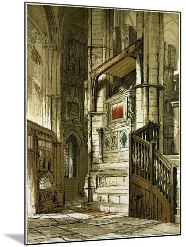 Entrance to the Chapel of Edward the Confessor, UK--Mounted Giclee Print