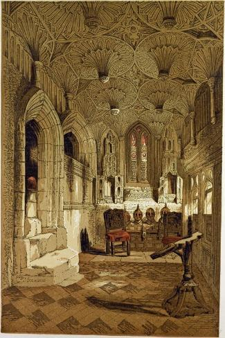 Chantry Chapel Adjoining the Beauchamp Chapel Warwick, UK--Stretched Canvas Print