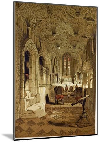 Chantry Chapel Adjoining the Beauchamp Chapel Warwick, UK--Mounted Giclee Print