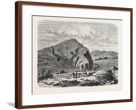 The Romans in Britain: Remains of the Wall of Severus--Framed Art Print