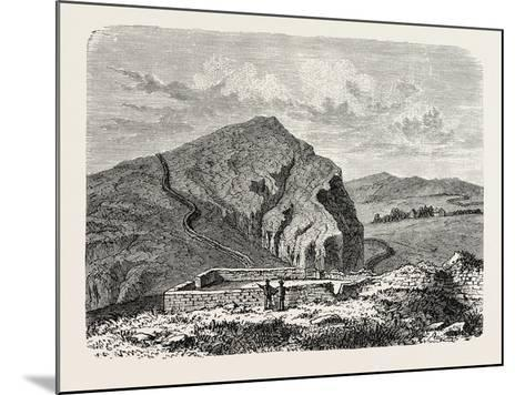 The Romans in Britain: Remains of the Wall of Severus--Mounted Giclee Print