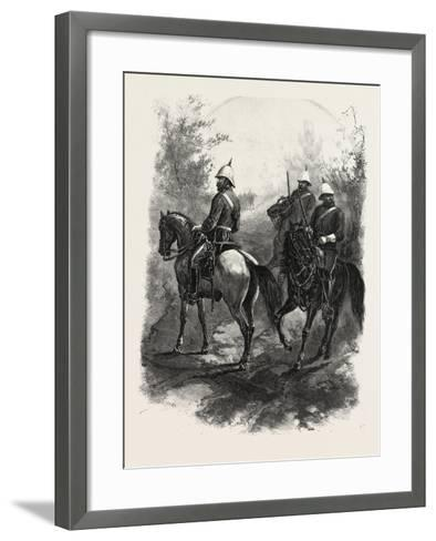 North-West Mounted Police, Canada, Nineteenth Century--Framed Art Print