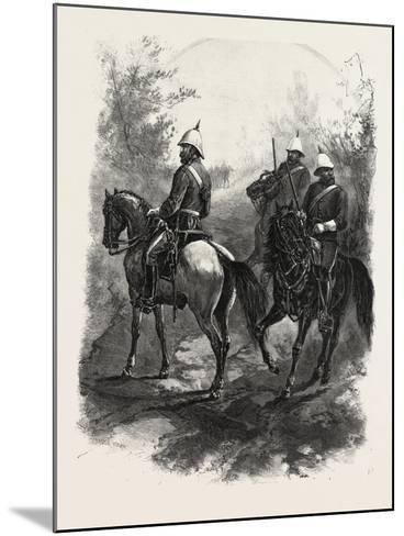North-West Mounted Police, Canada, Nineteenth Century--Mounted Giclee Print