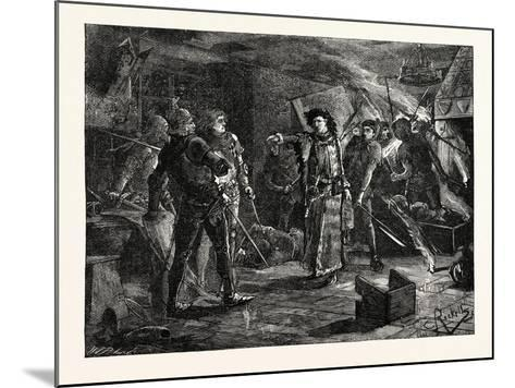 Arrest of the Conspirators at Cirencester--Mounted Giclee Print