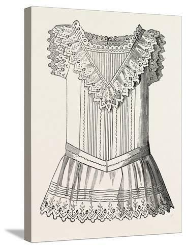 Pinafore for Girl of Three, Front, 1882, Fashion--Stretched Canvas Print