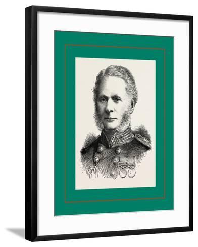 Right Hon, Admiral Sir A, Cooper-Key, G,C,B--Framed Art Print