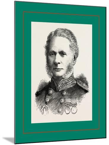 Right Hon, Admiral Sir A, Cooper-Key, G,C,B--Mounted Giclee Print
