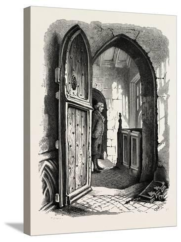 Chamber in Warwick Church, UK, 19th Century--Stretched Canvas Print