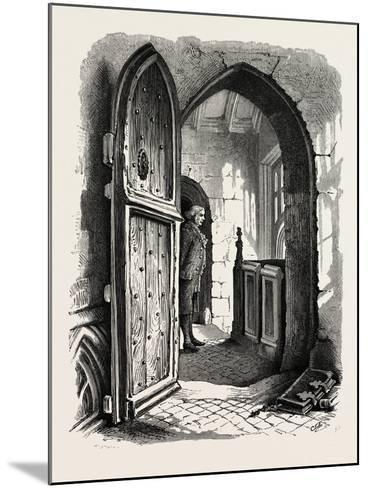 Chamber in Warwick Church, UK, 19th Century--Mounted Giclee Print