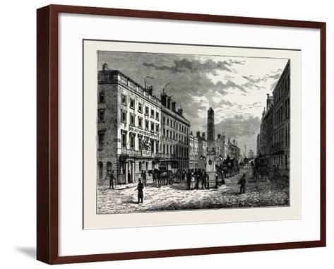 New Bridge Street and the Obelisk in 1795, London--Framed Art Print
