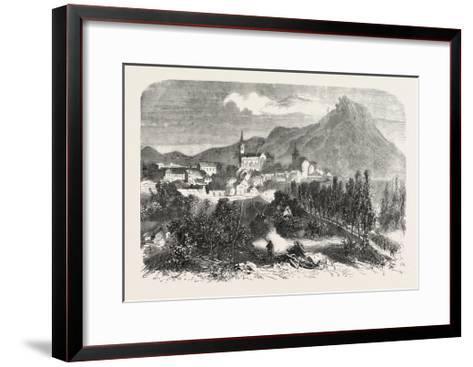 Franco-Prussian War: View of Forbach, 1870--Framed Art Print