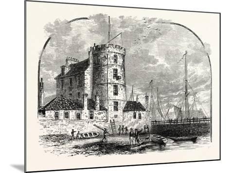 Edinburgh: Signal Tower Leith Harbour 1829--Mounted Giclee Print