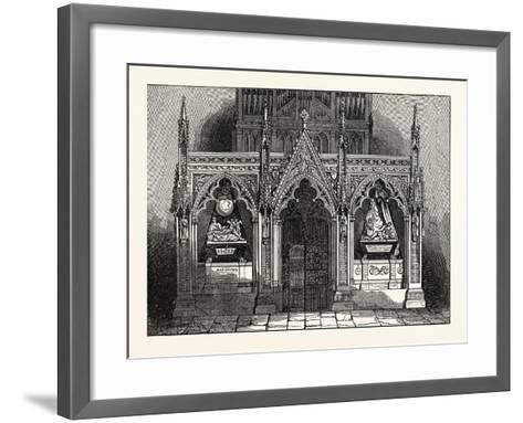The New Screen in Westminster Abbey, London, UK--Framed Art Print