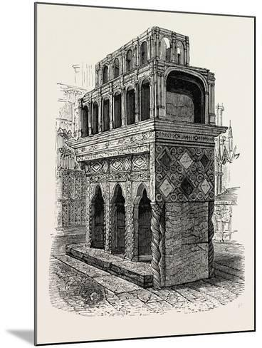 Shrine of Edward the Confessor in Westminster--Mounted Giclee Print