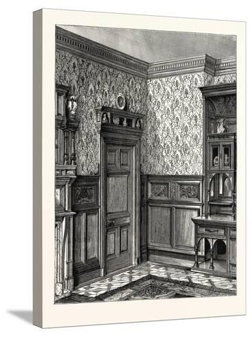Dining Room Woodwork, Messrs. Howard and Sons--Stretched Canvas Print