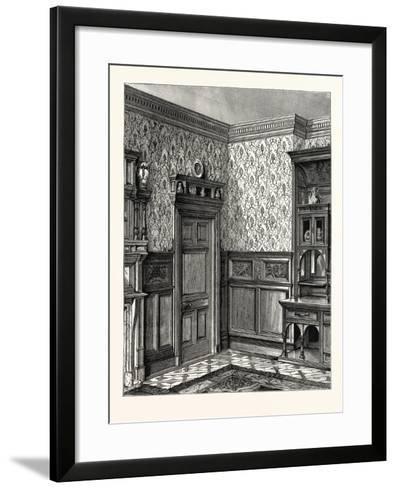 Dining Room Woodwork, Messrs. Howard and Sons--Framed Art Print
