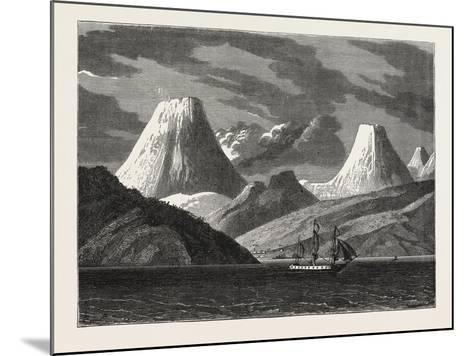 Entrance to the Harbour of Petropavlovski--Mounted Giclee Print