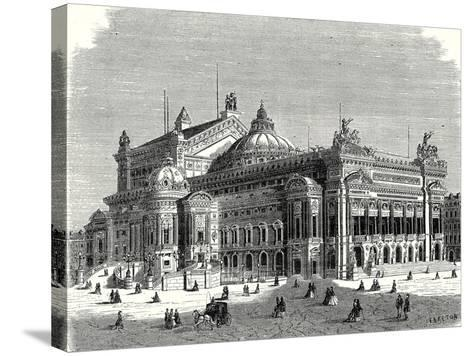 The New Opera in Paris and its Lightning Rods--Stretched Canvas Print