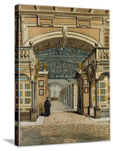 The Bodleian Library Oxford Oxford University Uk--Stretched Canvas Print