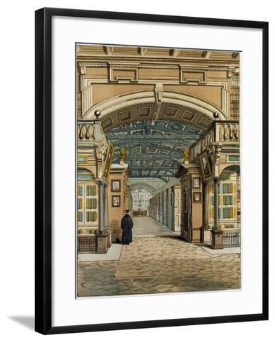 The Bodleian Library Oxford Oxford University Uk--Framed Art Print