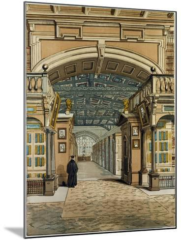 The Bodleian Library Oxford Oxford University Uk--Mounted Giclee Print