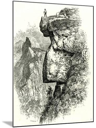 Yosemite Valley Upon Glacier Point USA 1891--Mounted Giclee Print