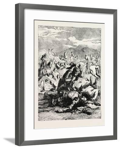 Battle of Otterbourne (Chevy Chase)--Framed Art Print