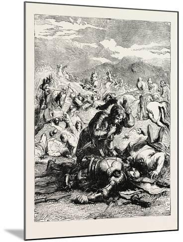 Battle of Otterbourne (Chevy Chase)--Mounted Giclee Print