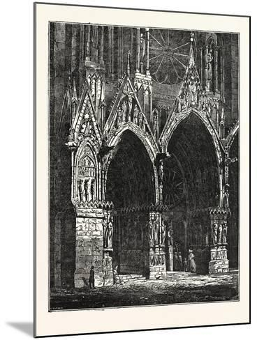 This Cathedral of Rheims, in France--Mounted Giclee Print