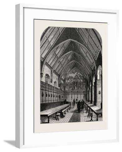 The Old Hall of the Inner Temple London--Framed Art Print