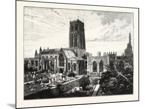 Howden Church: View from the South East--Mounted Giclee Print