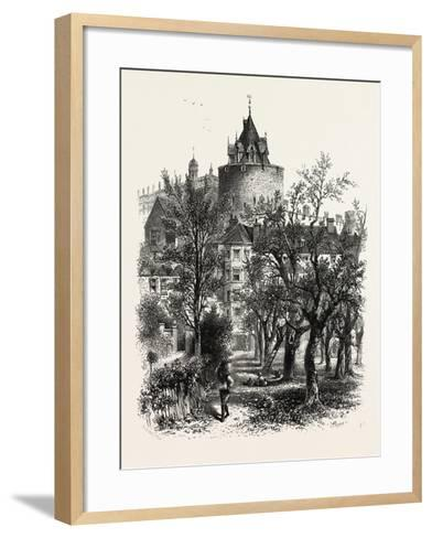 Windsor Castle, the Curfew Tower, UK--Framed Art Print