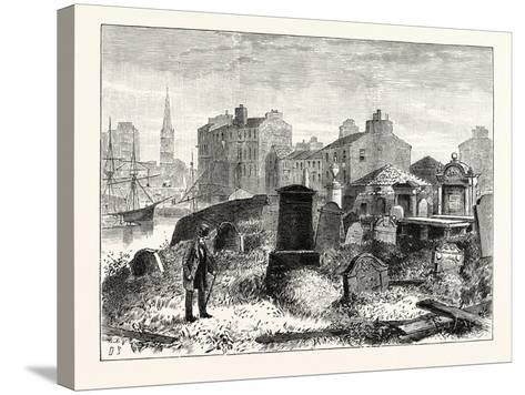 Edinburgh: St. Ninian's Churchyard Leith--Stretched Canvas Print