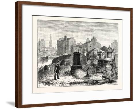 Edinburgh: St. Ninian's Churchyard Leith--Framed Art Print
