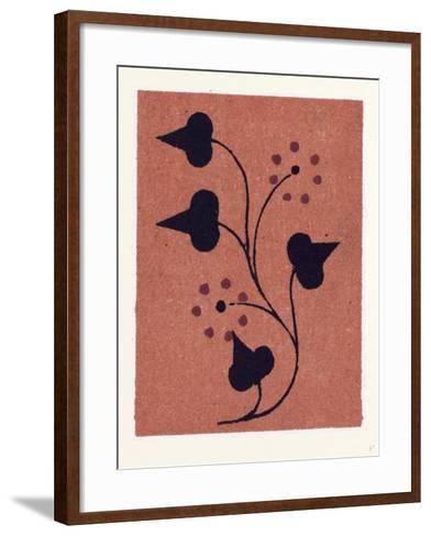 Greek Ornament and Etruscan Ornament--Framed Art Print