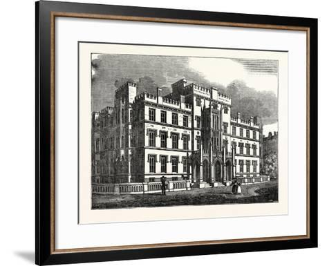 The New Westminster Hospital, London, UK--Framed Art Print