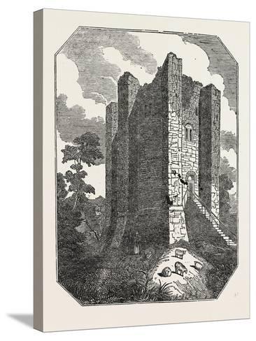 Conisborough Castle, Yorkshire, UK--Stretched Canvas Print