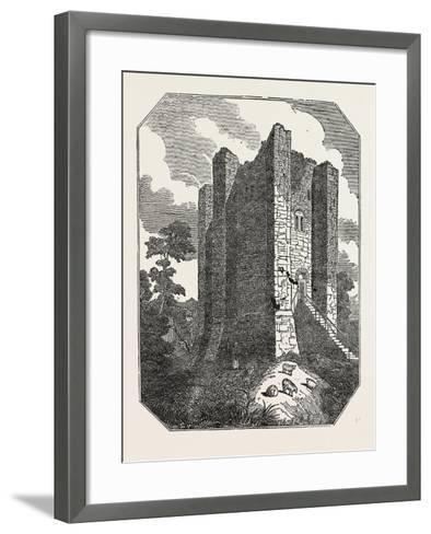 Conisborough Castle, Yorkshire, UK--Framed Art Print