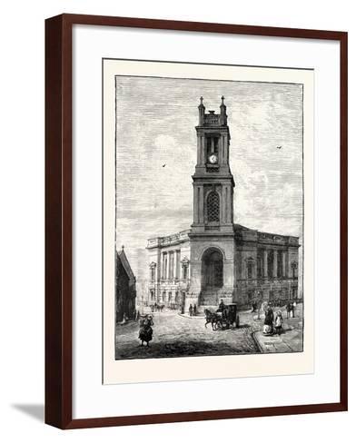 Edinburgh: St. Stephen's Church--Framed Art Print
