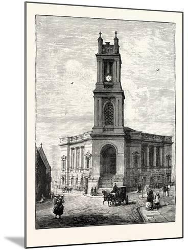 Edinburgh: St. Stephen's Church--Mounted Giclee Print