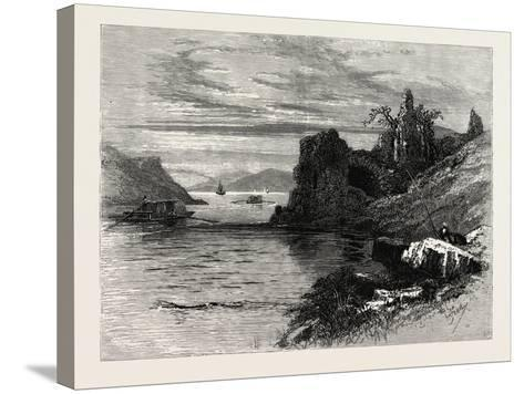 Strancally Castle, Ireland--Stretched Canvas Print