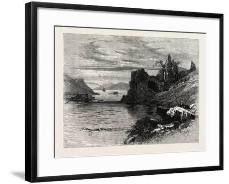 Strancally Castle, Ireland--Framed Art Print