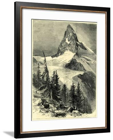 The Matterhorn Switzerland--Framed Art Print
