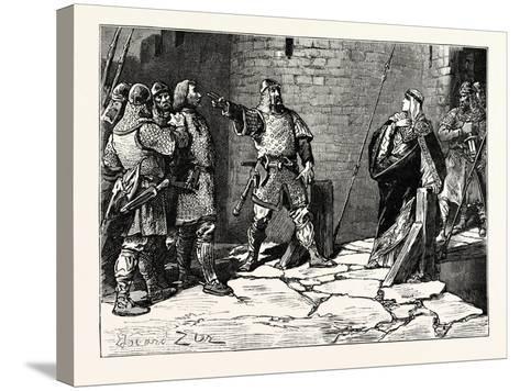 Surrender of Bamborough Castle--Stretched Canvas Print