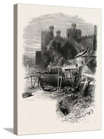 North Wales: Conway Castle, UK--Stretched Canvas Print